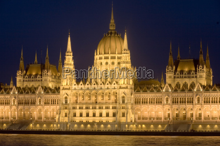 main part of hungarian parliament on