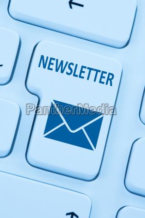 send newsletter internet business marketing campaign