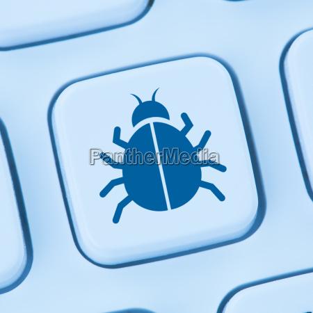 computer virus trojan security surf the