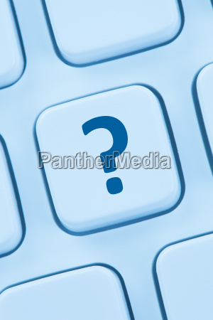 computer, keyboard, question, mark, help, icon - 20923953