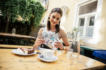 austria vienna young woman sitting in