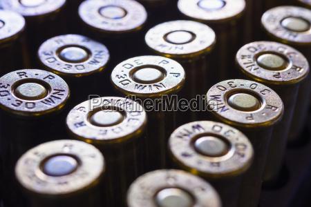 balas de municion de rifle de