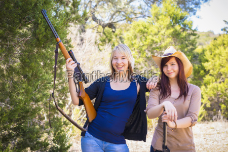 usa texas young women posing with