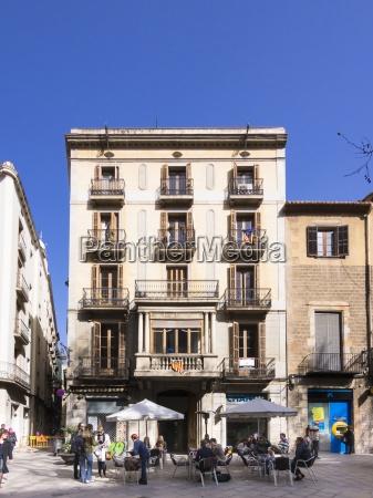 spain catalonia barcelona placa del pi