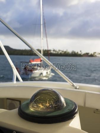 caribbean martinique sainte anne compass on