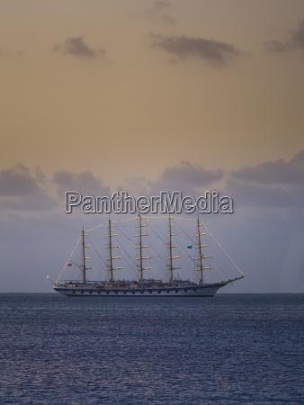 caribbean st lucia luxury sailing yacht
