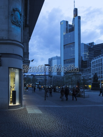 germany, , hesse, , frankfurt, , shopping, street, and - 21042577