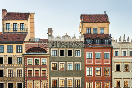 poland warsaw town houses in the