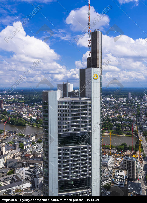 germany, , hesse, , frankfurt, , view, to, building - 21043339