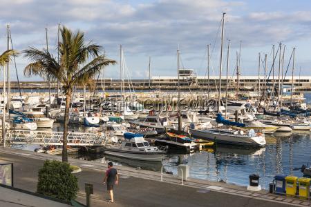 portugal view of marina at funchal