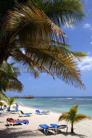 caribbean dominican republic palm beach and