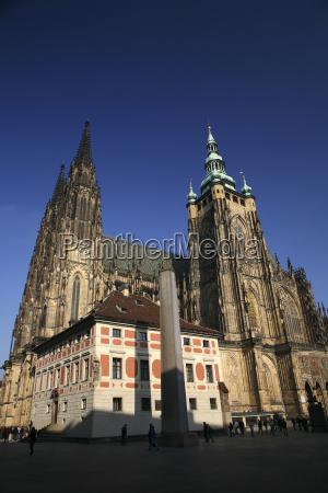 czechia prague st vitus cathedral