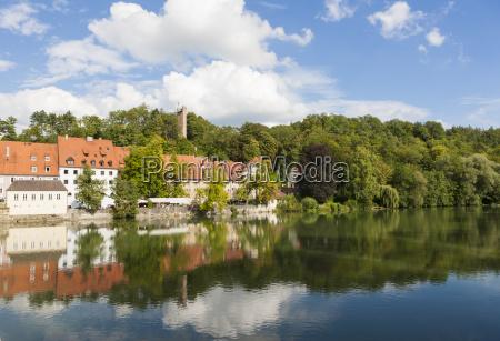germany bavaria old town of landsberg