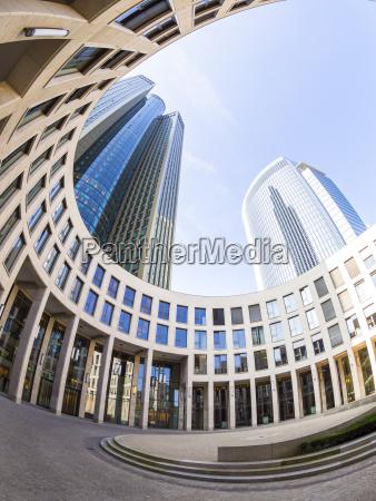 germany hesse frankfurt frankfurt gallus tower