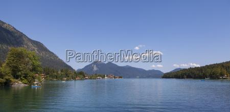 germany bavaria view of health resort