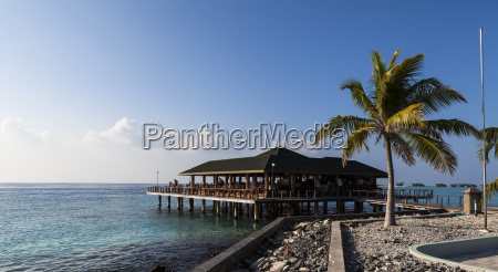 asia bar and restaurant on paradise