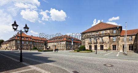 germany bavaria franconia exterior view of