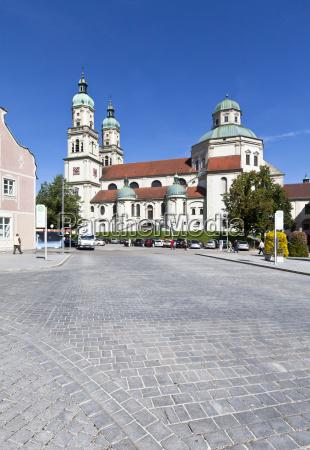 germany bavaria view of st lorenz