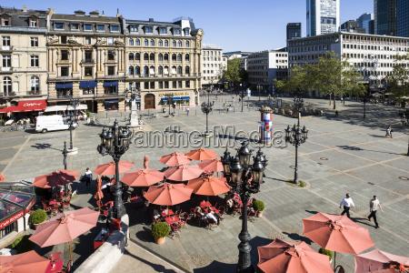 germany hesse frankfurt opera square