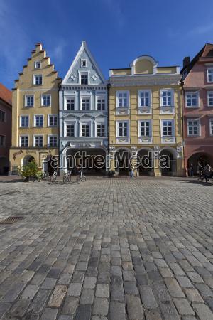 germany bavaria landshut old town historic
