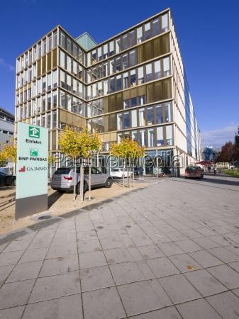 germany hesse frankfurt european quarter bnp