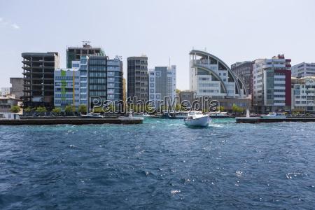 paseo viaje ciudad trafico masculino maldivas