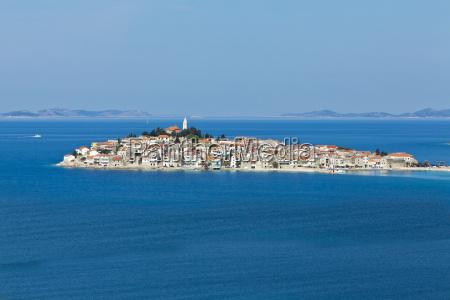 croatia dalmatia primosten peninsula