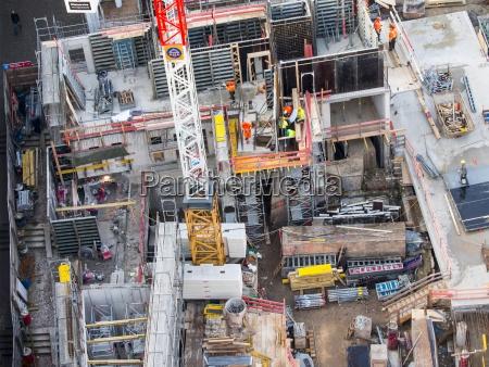 germany frankfurt hesse construction site
