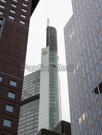 germany frankfurt hesse commerzbank tower japan