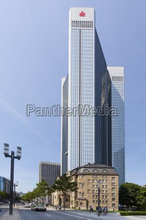 germany hesse frankfurt financial district trianon