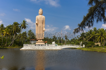 sri lanka pereliya giant buddha statue