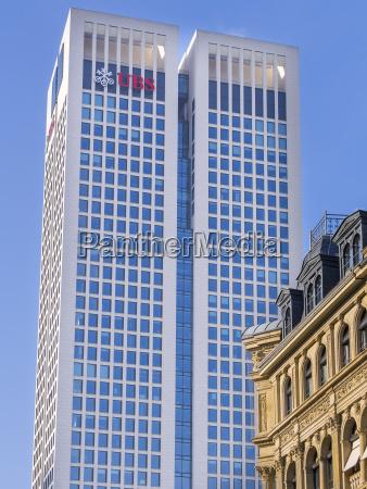 germany hesse frankfurt opera tower of