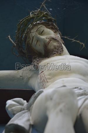 germany bavaria dornach jesus on the