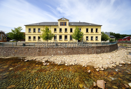 germany saxony schmiedeberg school and local
