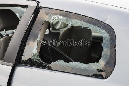 germany bavaria accident damaged car