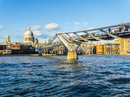 uk london view to st pauls