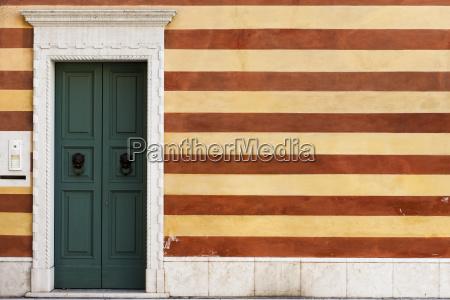 italy bardolino house wall and door