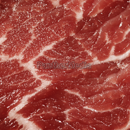 meat surface close up