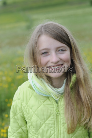 german bavaria starnberg portrait of girl