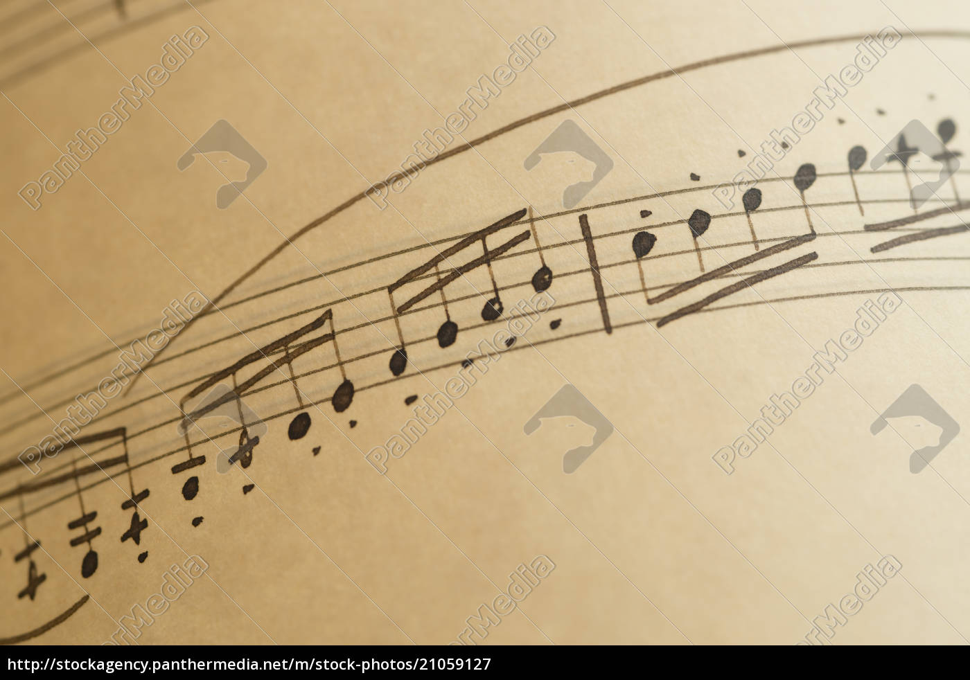 sheets, of, musical, notes, , close, up - 21059127