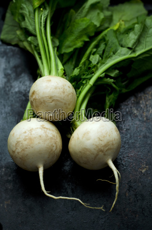 turnips close up