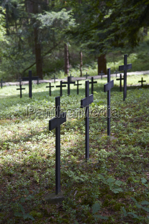 france military cemetery in ammerschwihr