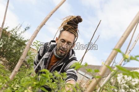 austria schiltern alternative gardener at work