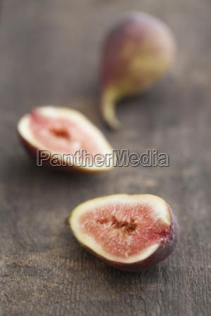 fresh figs close up