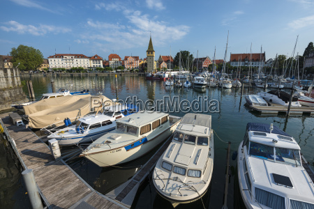 germany bavaria lindau view of parking