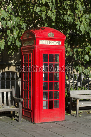 united kingdom london red telephone booth