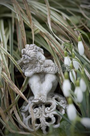 germany bavaria ruhpolding grave yard angel
