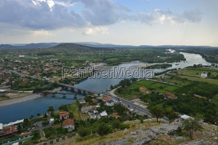 albania balkans shkodra view of drina