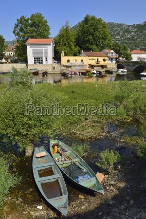 montenegro crna gora virpazar village in