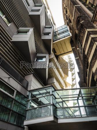 austria vienna view to facades of